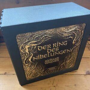 RING 1 - 22 Wagner Der Ring des Nibelungen / Solti etc. 22 LP wooden box