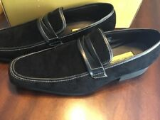 Antonio Cerrelli Velvet Loafer Black Size 12