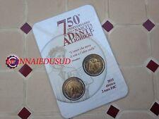 2x 2 Euro CC Coincard BU Italie 2015 - Dante Alighieri