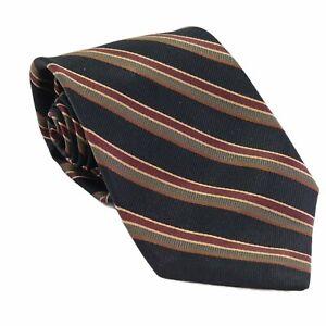 Robert Talbott Mens 100% Silk Designer Tie Striped Luxury Necktie Multicolor