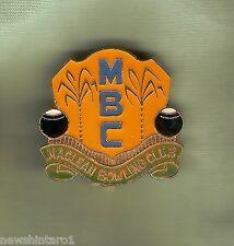 #D248.  MACLEAN    BOWLING  CLUB LAPEL   BADGE