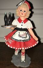 "Madame Alexander resin doll figurine Coca-Cola Carhop #90210 ""Doll Face"" 1999"