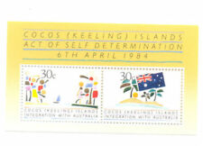 Mint Never Hinged/MNH Cocos Islander Sheet Stamps