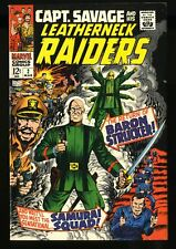 Capt. Savage and His Leatherneck Raiders #2 VF 8.0 White Pages