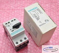 Neue Siemens Sirius Leistungsschalter 3RV1021-0EA15  typ 3ZX1012-0RV02-1AA1 E:05