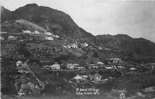 1930s Dutch West Indies Caribbean RPPC real Photo postcard 8894