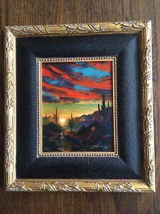 Dale Terbush Southwest Art,Ltd.Edition Hand Remarqued Giclee On Canvas