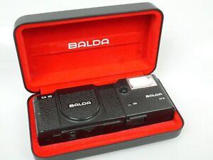 Balda CA35 CA 35 mit Blitz Flash CF18 CF 18 BALDANON 2,8/38 Top + Schatulle case