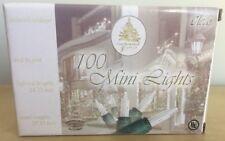 100 Clear Mini Lights Enchanted Forest Christmas Lights NIB FREE SHIPPING