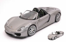 Porsche 918 Spyder 2013 Silver 1:24 Model 24055S WELLY