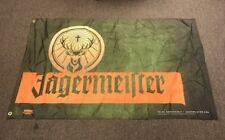 "Jagermeister Flag 3' x 5"" Indoor/Outdoor Banner Flag 4 Man Cave,Bar,Garage NEW"