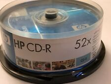 HP 52x 700MB 80 Minute Music CD-R Media New in Sealed Package Quantity 20