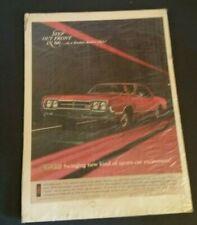 1994 1995 Oldsmobile Aurora Classic Vintage Advertisement Ad D182 Right