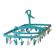 Light Blue Laundry Hanging Clothes Dryer. Cheap but not cheap.