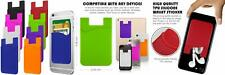 Cellphone Card Holder Back Wallet, JINYEXUAN 8 pcs Colorful Silicone color