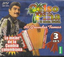 Celso Pina Y Su Ronda Bogota 30 Grandes Temas 3CD Boxset New