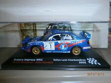 SUBARU IMPREZA WRC RALLY LYON CHARBONNIERES 2002 ROUSSELOT ALTAYA IXO 1:43