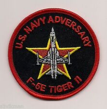 USN VFC-13 ADVERSARY F-5E TIGER II aircraft 3 inch patch ADVERSARY SQN