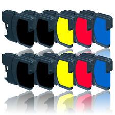 10x tinta cartuchos de impresora para Brother dcp-385c DCP - 585cw dcp-6690cw
