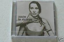 LA ZIZANIE - ZAZIE (CD)  NEUF SCELLE