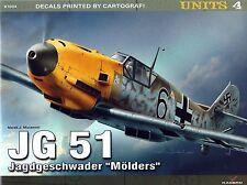 JG 51 Jagdgeschwader  Molders by Marek J. Murawski (Pamphlet, 2013)