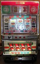 Aruze Continental XXXX SLOT MACHINE Japanese Working 4 Reel with Tokens & Keys