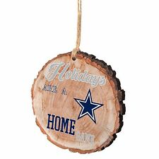 Dallas Cowboys Christmas Tree Ornament Stump New - Holidays are a Home Game