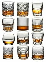 Whiskey Glasses Crystal Scotch Old Fashioned Whiskey Glasses Bourbon Rum Gift
