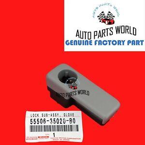 NEW GENUINE TOYOTA OEM 03-09 4RUNNER STONE COLOR GLOVE BOX LOCK 55506-35020-B0