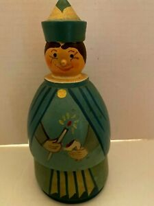 Polish Nesting dolls Character/Fairy godmother princes and cat