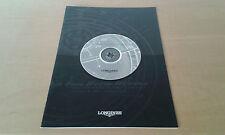 Usado en tienda  - LONGINES - Relojes -  Dossier de prensa - Item For Collectors
