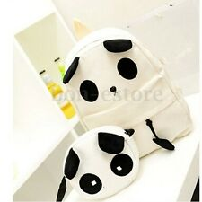 Cute Women Girl Panda Schoolbag Backpack Bookbag Handbag Shoulder Bag Rucksack