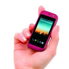 POSH Mobile S240 Smallest phone in the World GSM Unlocked + Android 4G - (Pink)