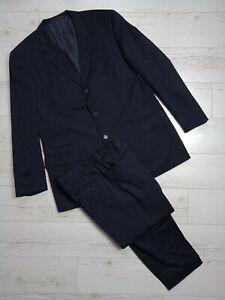 Gucci Tom Ford Vintage Men Suit 3 Button Fine Worsted Super 100's Size XL