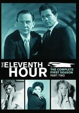 THE ELEVENTH HOUR: Season 1 parts 1 & 2  - DVD - Region Free