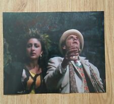 "Jessica Martin 'Doctor Who"", hand signed 8"" x 10"" photograph."