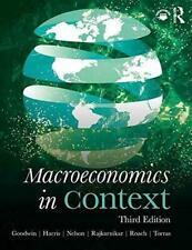 Macroeconomics in Context by Neva Goodwin 9781138559035 (paperback 2019)