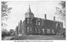 POSTCARD    KENT   HAWKHURST   Dr  Barnardo's  Homes  Babies  Castle