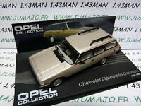 OPE71R voiture 1/43 IXO OPEL collection : CHEVROLET Diplomata Caravan break