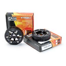 Titan Motorsports NEW Cam Gears 2JZ Toyota Supra (2) Pair ; Black
