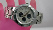 J17:New $75 Relic Wet  by Fossil Watch for Men from USA-Silver Tone