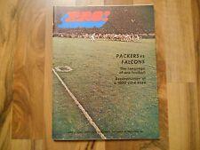 Old Vintage Sep 27 1970 Magazine Program Pro! Green Bay Packers Atlanta Falcons