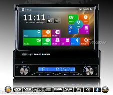 "AUTORADIO 7"" GPS UNIVERSALE 1 DIN HD 3G USB SD NAVIGATORE COMANDI VOLANTE"