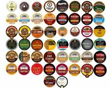 40 K Cups Variety Pack - Coffee, Tea, Cider, Hot Chocolate, All Different Brands