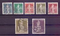 Berlin 1949 - UPU Stephan - MiNr. 35/41 rund gestempelt - Michel 320,00 € (264)