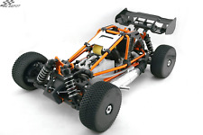 NEW HOBAO 1/8 1:8 HYPER CAGE BUGGY ELECTRIC RALLY RTR - ORANGE (RC_DEPOT) US
