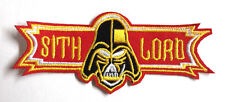"Star Wars Vader Sith Lord Logo 4"" Patch-FREE S&H (SWPA-CD-04)"