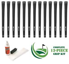 13 x New Karma Tour Velvet Black Standard Size .600 Round Golf Club Grip NEW