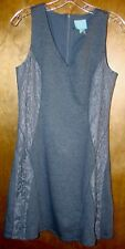 CeCe by Cynthia Steffe Dress.  Size 4.  Gray, Fully Lined