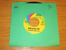 "60's ROCK 45 RPM - STRAWBERRY ALARM CLOCK - UNI 55046 - ""BIRDS IN MY TREE"""